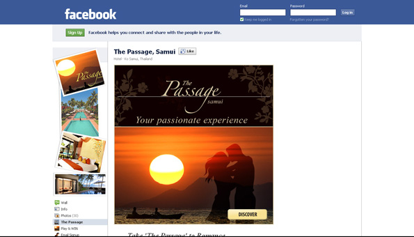 Facebook Page - The Passage Samui